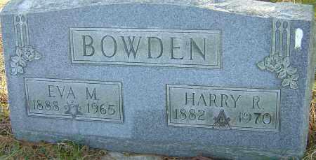 BOWDEN, EVA M - Franklin County, Ohio | EVA M BOWDEN - Ohio Gravestone Photos