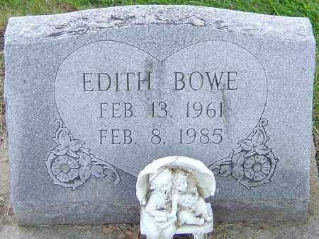 BOWE, EDITH - Franklin County, Ohio | EDITH BOWE - Ohio Gravestone Photos