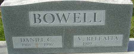 BOWELL, DANIEL C - Franklin County, Ohio | DANIEL C BOWELL - Ohio Gravestone Photos