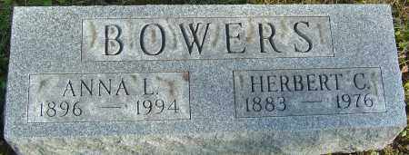 BOWERS, HERBERT C - Franklin County, Ohio | HERBERT C BOWERS - Ohio Gravestone Photos