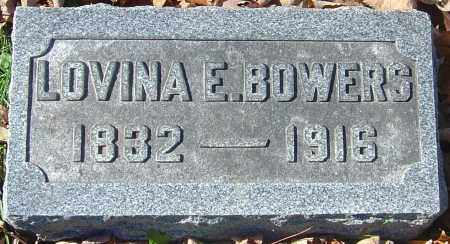 BOWERS, LOVINA E - Franklin County, Ohio | LOVINA E BOWERS - Ohio Gravestone Photos