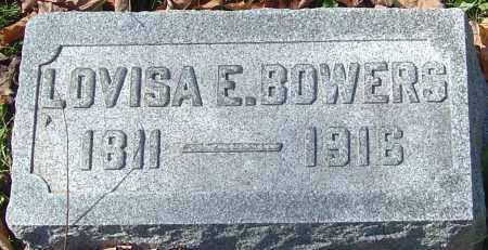 BOWERS, LOVISA E - Franklin County, Ohio   LOVISA E BOWERS - Ohio Gravestone Photos