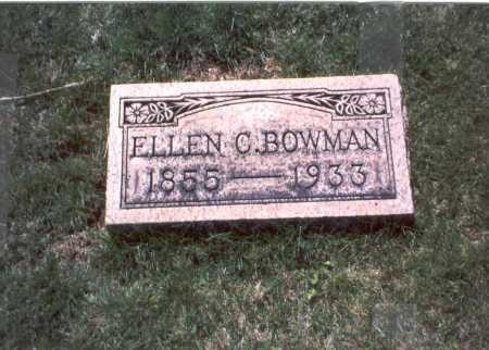 BOWMAN, ELLEN C. - Franklin County, Ohio | ELLEN C. BOWMAN - Ohio Gravestone Photos