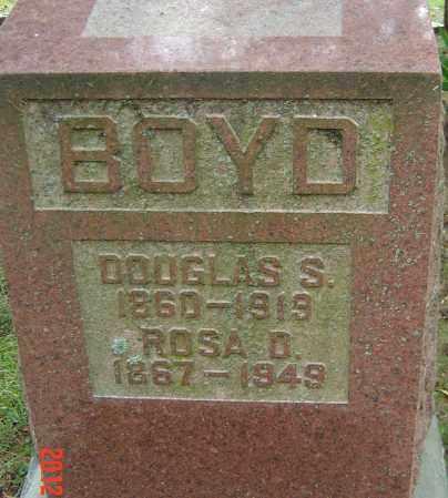 DEVOL BOYD, ROSA IRENE - Franklin County, Ohio | ROSA IRENE DEVOL BOYD - Ohio Gravestone Photos