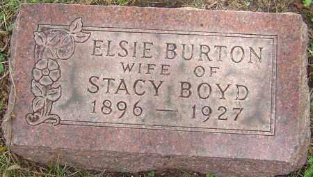 BURTON BOYD, ELSIE - Franklin County, Ohio   ELSIE BURTON BOYD - Ohio Gravestone Photos