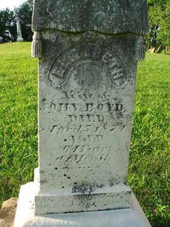 BOYD, ELIZABETH - Franklin County, Ohio | ELIZABETH BOYD - Ohio Gravestone Photos