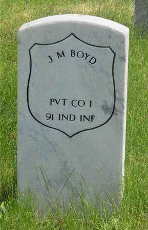 BOYD, J. M. - Franklin County, Ohio | J. M. BOYD - Ohio Gravestone Photos