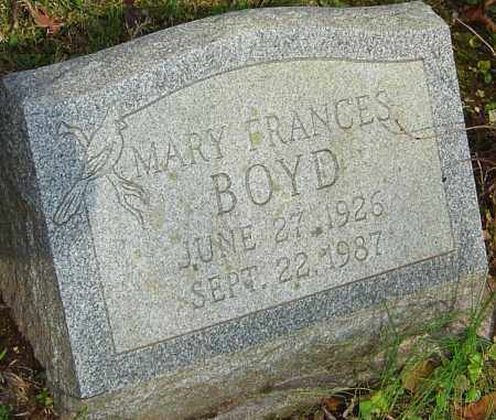 BOYD, MARY - Franklin County, Ohio | MARY BOYD - Ohio Gravestone Photos