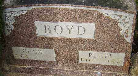 BOYD, RUTH E - Franklin County, Ohio | RUTH E BOYD - Ohio Gravestone Photos