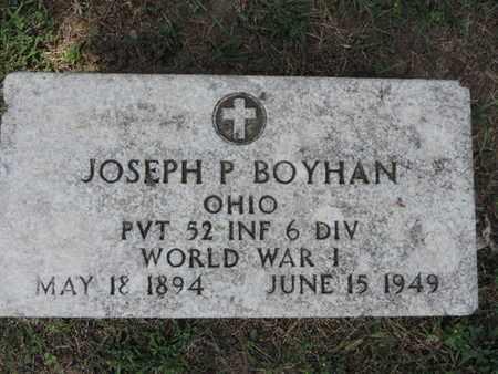 BOYHAN, JOSEPH P - Franklin County, Ohio   JOSEPH P BOYHAN - Ohio Gravestone Photos