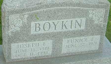 BOYKIN, JOSEPH E - Franklin County, Ohio | JOSEPH E BOYKIN - Ohio Gravestone Photos