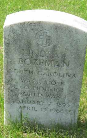 BOZEMAN, LINDSAY - Franklin County, Ohio | LINDSAY BOZEMAN - Ohio Gravestone Photos