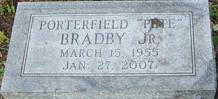 BRADBY, PORTERFIELD - Franklin County, Ohio | PORTERFIELD BRADBY - Ohio Gravestone Photos
