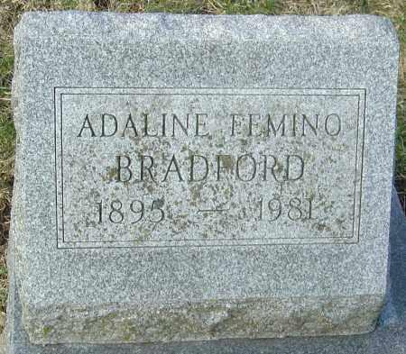 BRADFORD, ADALINE - Franklin County, Ohio | ADALINE BRADFORD - Ohio Gravestone Photos