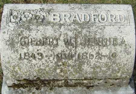 BRADFORD, GILBERT WEED - Franklin County, Ohio | GILBERT WEED BRADFORD - Ohio Gravestone Photos