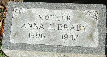 KUB BRADY, ANNA L - Franklin County, Ohio | ANNA L KUB BRADY - Ohio Gravestone Photos