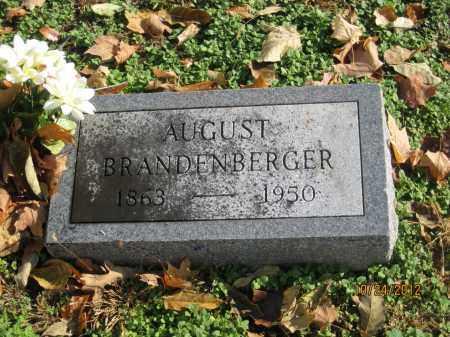 BRANDENBERGER, AUGUST - Franklin County, Ohio | AUGUST BRANDENBERGER - Ohio Gravestone Photos