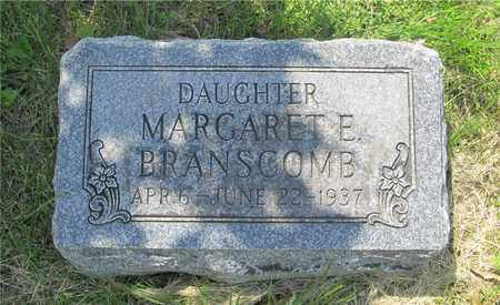 BRANSCOMB, MARGARET E. - Franklin County, Ohio   MARGARET E. BRANSCOMB - Ohio Gravestone Photos