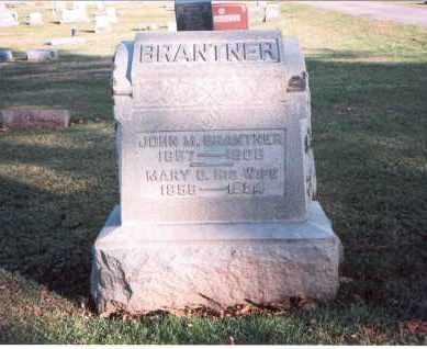 EVANS BRANTNER, MARY BELLE - Franklin County, Ohio | MARY BELLE EVANS BRANTNER - Ohio Gravestone Photos