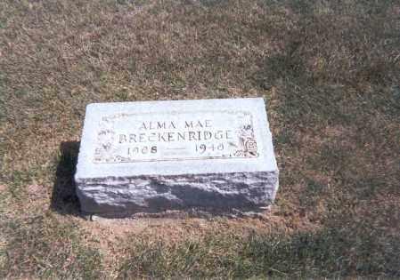 BRECKENRIDGE, ALMA MAE - Franklin County, Ohio | ALMA MAE BRECKENRIDGE - Ohio Gravestone Photos