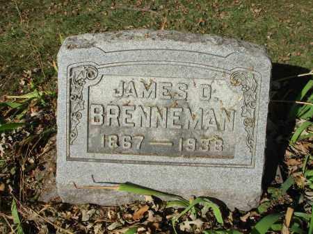 BRENNEMAN, JAMES D. - Franklin County, Ohio | JAMES D. BRENNEMAN - Ohio Gravestone Photos