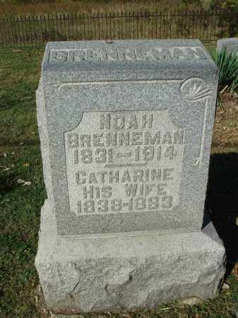 BRENNEMAN, NOAH - Franklin County, Ohio | NOAH BRENNEMAN - Ohio Gravestone Photos