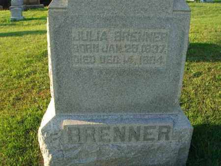 BRENNER, JULIA - Franklin County, Ohio | JULIA BRENNER - Ohio Gravestone Photos