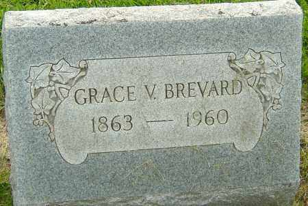 BREVARD, GRACE V - Franklin County, Ohio   GRACE V BREVARD - Ohio Gravestone Photos