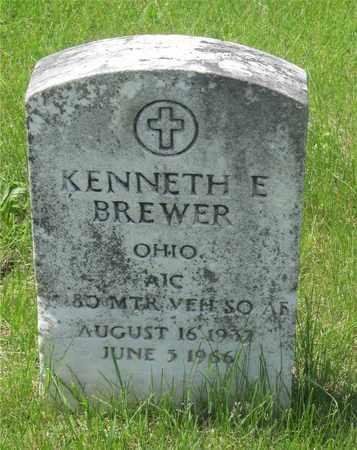 BREWER, KENNETH E. - Franklin County, Ohio   KENNETH E. BREWER - Ohio Gravestone Photos