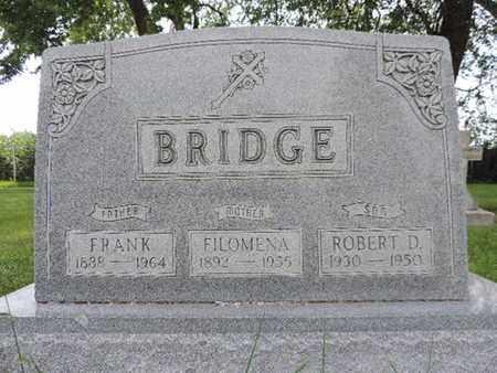 BRIDGE, FRANK - Franklin County, Ohio   FRANK BRIDGE - Ohio Gravestone Photos