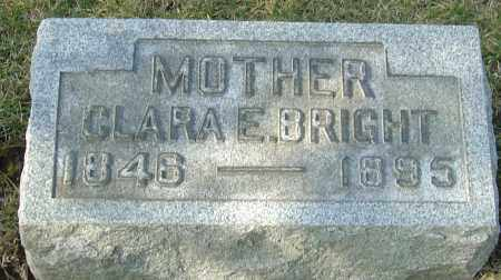 BRIGHT, CLARA EDITH - Franklin County, Ohio | CLARA EDITH BRIGHT - Ohio Gravestone Photos