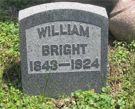 BRIGHT, WILLIAM - Franklin County, Ohio | WILLIAM BRIGHT - Ohio Gravestone Photos