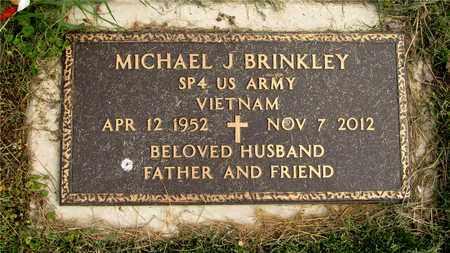 BRINKLEY, MICHAEL J. - Franklin County, Ohio   MICHAEL J. BRINKLEY - Ohio Gravestone Photos