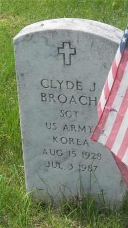 BROACH, CLYDE J. - Franklin County, Ohio | CLYDE J. BROACH - Ohio Gravestone Photos