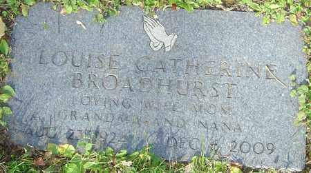 BROADHURST, LOUISE - Franklin County, Ohio | LOUISE BROADHURST - Ohio Gravestone Photos