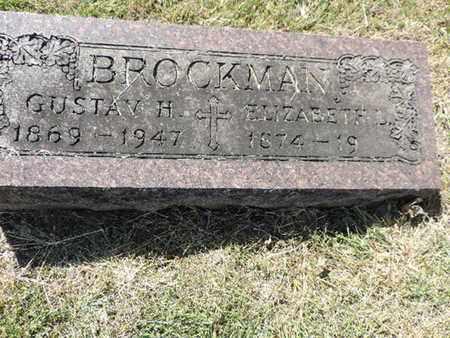 BROCKMAN, ELIZABETH L. - Franklin County, Ohio | ELIZABETH L. BROCKMAN - Ohio Gravestone Photos