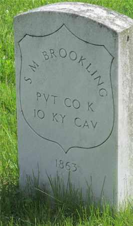 BROOKLING, S.M. - Franklin County, Ohio   S.M. BROOKLING - Ohio Gravestone Photos