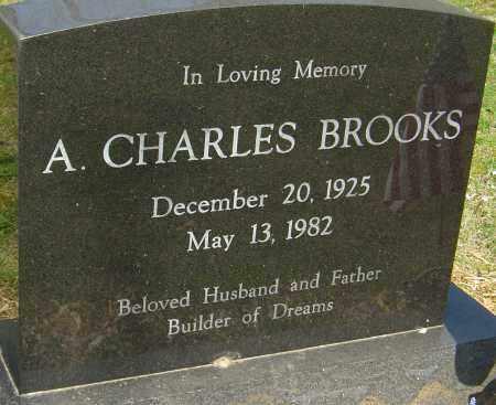 BROOKS, A CHARLES - Franklin County, Ohio | A CHARLES BROOKS - Ohio Gravestone Photos