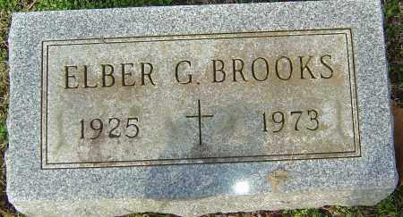 BROOKS, ELBER G - Franklin County, Ohio   ELBER G BROOKS - Ohio Gravestone Photos