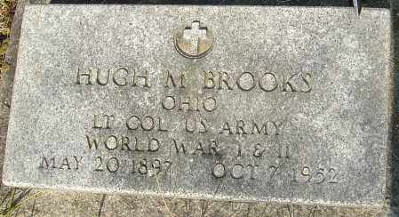 BROOKS, HUGH M - Franklin County, Ohio | HUGH M BROOKS - Ohio Gravestone Photos