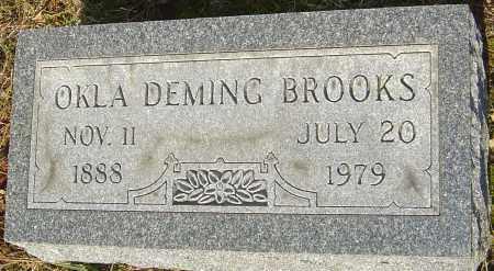 BROOKS, OKLA - Franklin County, Ohio | OKLA BROOKS - Ohio Gravestone Photos