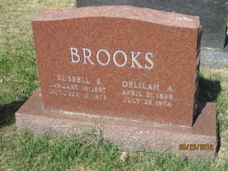 BOYD BROOKS, DELILAH A - Franklin County, Ohio   DELILAH A BOYD BROOKS - Ohio Gravestone Photos
