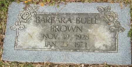 BUELL BROWN, BARBARA - Franklin County, Ohio | BARBARA BUELL BROWN - Ohio Gravestone Photos