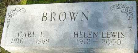 LEWIS BROWN, HELEN - Franklin County, Ohio | HELEN LEWIS BROWN - Ohio Gravestone Photos