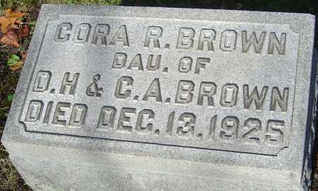 BROWN, CORA R - Franklin County, Ohio | CORA R BROWN - Ohio Gravestone Photos