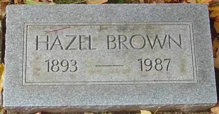 BROWN, HAZEL - Franklin County, Ohio   HAZEL BROWN - Ohio Gravestone Photos