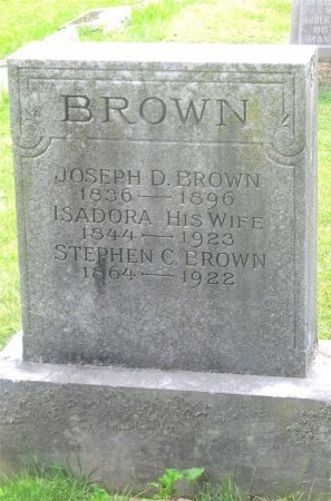 BROWN, STEPHEN C. - Franklin County, Ohio | STEPHEN C. BROWN - Ohio Gravestone Photos