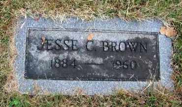 BROWN, JESSE C. - Franklin County, Ohio | JESSE C. BROWN - Ohio Gravestone Photos