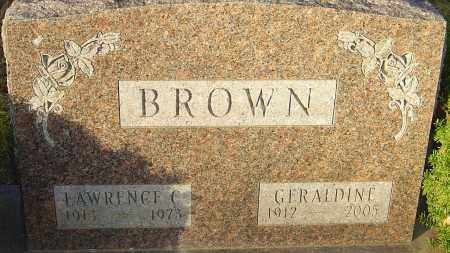 BROWN, LAWRENCE - Franklin County, Ohio | LAWRENCE BROWN - Ohio Gravestone Photos