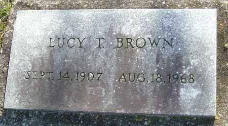 BROWN, LUCY T - Franklin County, Ohio | LUCY T BROWN - Ohio Gravestone Photos
